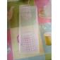 Clear Plastic Nail Art Tool Storage Box(19x7.5x4cm)
