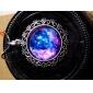 Ожерелье с круглым галактическим кулоном (1 шт)