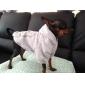 Собака Толстовки Одежда для собак Хлопок Зима На каждый день Спорт Буквы и цифры Серый Костюм Для домашних животных