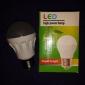 Lâmpada Redonda LED E26/E27 4W 280 LM K Branco Quente 30 SMD 3014 AC 220-240 V A50