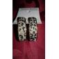Fashion Golden Leopard Print Hoop Earring(1 Pair)