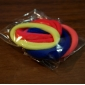 (6PC) More Color High Elastic Thick Durable hair Rope (Color Random)