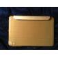 Para Case Tampa Com Suporte Hibernação / Ligar Automático Origami Corpo Inteiro Capinha Côr Sólida Couro Ecológico para iPad Mini 3/2/1