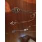 European Style Hand Shape Pendant Necklace