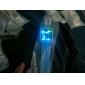 남성 손목 시계 독특한 창조적 인 시계 LED 달력 디지털 실리콘 밴드 블루 브라운 네이비