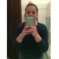 Pour Coque iPhone 5 Autre Coque Coque Arrière Coque Couleur Pleine Flexible PUT pour iPhone SE/5s/5