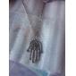 Женский Ожерелья с подвесками Рука Фатимы Сплав европейский бижутерия Мода Простой стиль Бижутерия Назначение Для вечеринок Повседневные
