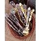 Vantage Crystal Alloy Ice Cream Spoon Set Of 1(Random Colors)