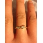 Small Angel Wings Diamond Fashion Ring