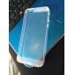 Pour Coque iPhone 5 Ultrafine Transparente Coque Coque Arrière Coque Couleur Pleine Flexible Silicone pour iPhone SE/5s/5