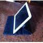 360도 회전하는 자동 절전& 아이 패드 2/3/4를위한 스탠드 케이스 커버 플립 오픈 PU 가죽 케이스를 깨워
