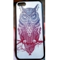 Retro Owl Pattern Hard Case for iPhone 5C