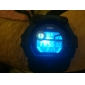 SKMEI Муж. Наручные часы электронные часы Цифровой Календарь Секундомер Защита от влаги ЖК экран Pезина Группа Черный