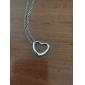 Femme Pendentif de collier Forme de Coeur Alliage Amour Européen bijoux de fantaisie Bijoux Pour Soirée