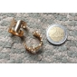 (3PC) Fashionable Vane Three-piece Metal Joint Ring