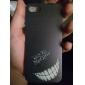 iphone 7 mais cara do sorriso padrão caso duro louco para iPhone 5 / 5s