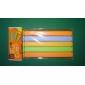 doce cor de plástico clipe de vedação (5pcs, cor aleatória)