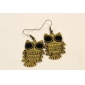 Drop Earrings Alloy Fashion Animal Shape Owl Jewelry Daily