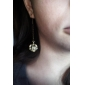 Earring Crown Drop Earrings Jewelry Women Daily Alloy