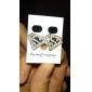 Earring Stud Earrings Jewelry Women Wedding / Party / Daily / Casual Alloy Gold