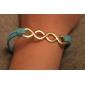 eruner®fashion сплава бесконечное кожаные браслеты (разных цветов)