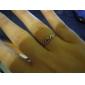 반지 캐쥬얼 보석류 구리 문자 반지8 여러 색상