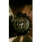 Men's Multi-Functional Analog-Digital Round Dial Rubber Band Wrist Watch (Assorted Colors) Cool Watches Unique Watches
