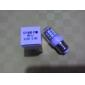 3W E26/E27 Ampoules Maïs LED T 27 diodes électroluminescentes SMD 5050 Blanc Froid 300-350lm 5500-6500K AC 85-265V