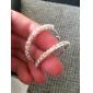 Earring Hoop Earrings Jewelry Wedding / Party / Daily / Casual Crystal Women