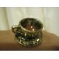 Three-Dimensional do copo de café Colher de abertura anel pode ser ajustado