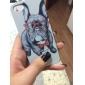 motif de chien heureux dos dur cas de couverture pour iPhone 5 / 5s