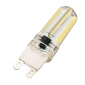 3.5 G9 LED Corn Lights T 104 leds SMD 3014 Warm White 300-350lm 2800-3200K AC 220-240V