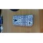 Capa de Couro Elephant padrão tribal Tapete PU com slot para cartão e suporte para Samsung Galaxy S4 mini-I9190