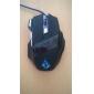 KN-006 Shift LED 고화질 광마우스 게임마우스(800/1200/1600/2400DPI)
