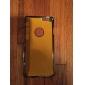 никелированная шаблон металла задняя крышка для iphone 6 (ассорти цветов)