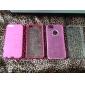 Для Кейс для iPhone 5 Защита от удара / Матовое / Полупрозрачный Кейс для Задняя крышка Кейс для Один цвет Твердый PC iPhone SE/5s/5