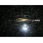 E14 Lâmpadas de Filamento de LED CA35 2 leds Decorativa Branco Quente 180-200lm 3000-3500K AC 220-240V