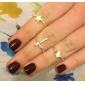 반지 일상 / 캐쥬얼 보석류 합금 여성 문자 반지 골든