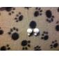 Femme Boucles d'oreille goujon Basique bijoux de fantaisie Mode Perle Résine Balle Bijoux Pour Mariage Soirée Quotidien Décontracté Sports