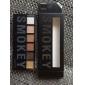 6 couleurs fard à paupières kit de maquillage Palette