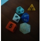 donjons et dragons jeu 15-20mm d4 d6 d8 d10 d12 d20 couleur de dés aléatoire (6pcs/set)