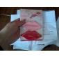 la lèvre en forme de presse-pâte dentifrice