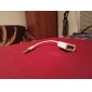 USB 여성 코드 컨버터 케이블에 3.5mm의 남성 자동차 AUX 오디오 플러그 잭을 동기화