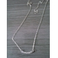 Women's Pendant Necklaces Alloy Simulated Diamond Birthstones Jewelry Party