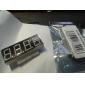 4 chiffres 3.5 30V voltmètre Stm8s003 Contrôle maître deux lignes LED Numérique Bleu