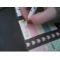 padrão dos desenhos animados animais dobrar nota auto-stick (cor aleatória)