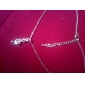 Women's Pendant Necklaces Silver Plated Gold Plated Music Notes Silver Jewelry Daily