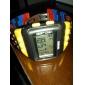 Homens Relógio de Pulso Relogio digital Digital LCD Calendário Cronógrafo alarme Borracha Banda Cores Múltiplas