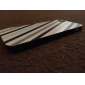 Black And White Diagonal Stripes Pattern Hard Case for iPhone 5/5S