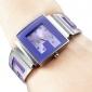 Mulheres Relógio de Moda Relógio de Pulso Bracele Relógio Quartzo Banda Bracelete Preta Branco Azul Rosa Roxa AmareloPreto Roxo Amarelo